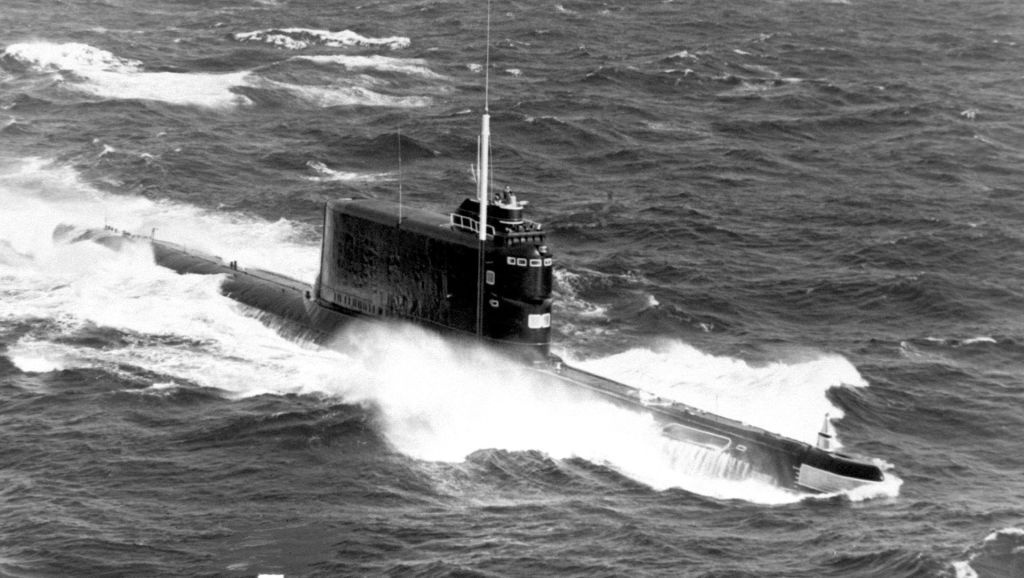 submarino clase golf
