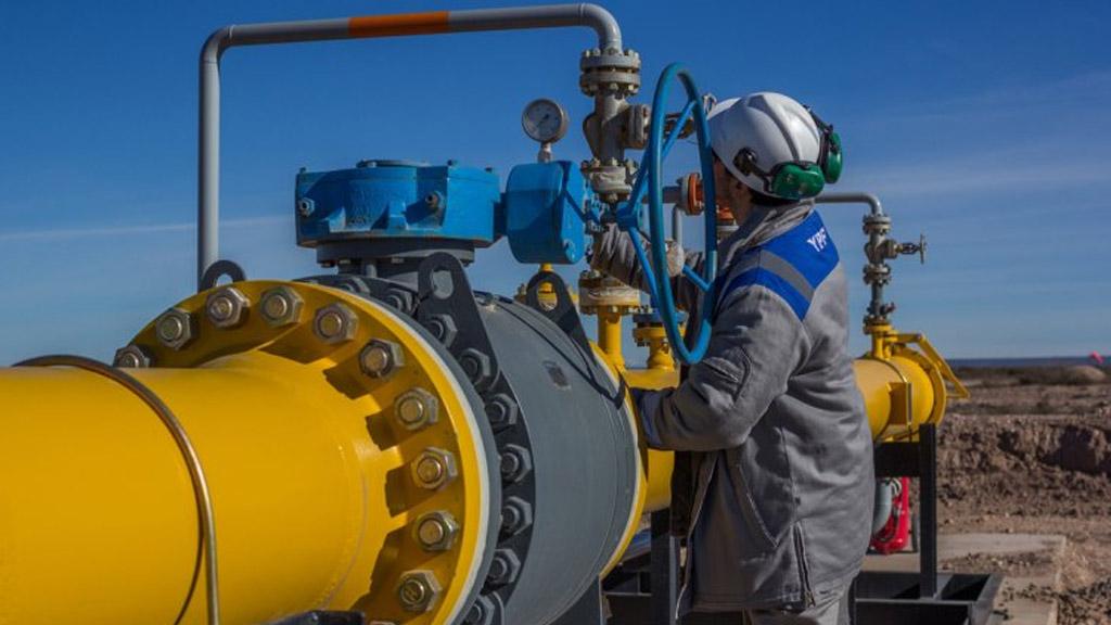 YPF dijo que aumentó 126% su producción de shale gas en el primer semestre