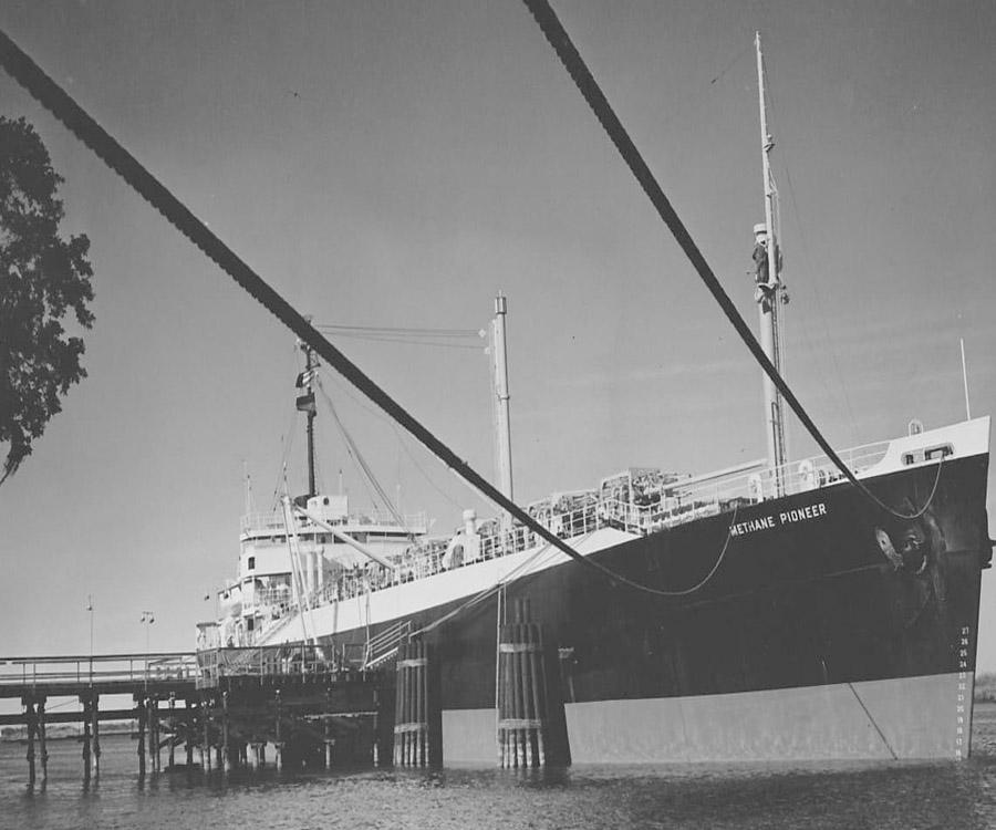 Los pioneros del transporte de GNL en el mundo