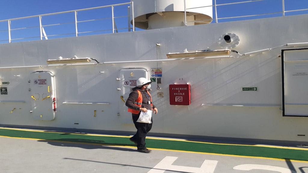 ¿Qué buscan las inspecciones del Senasa en buques fondeados en el norte bonaerense?
