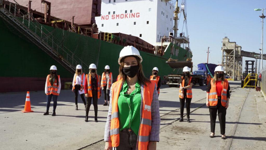 Apenas un 13% de mujeres trabaja en los puertos bonaerenses