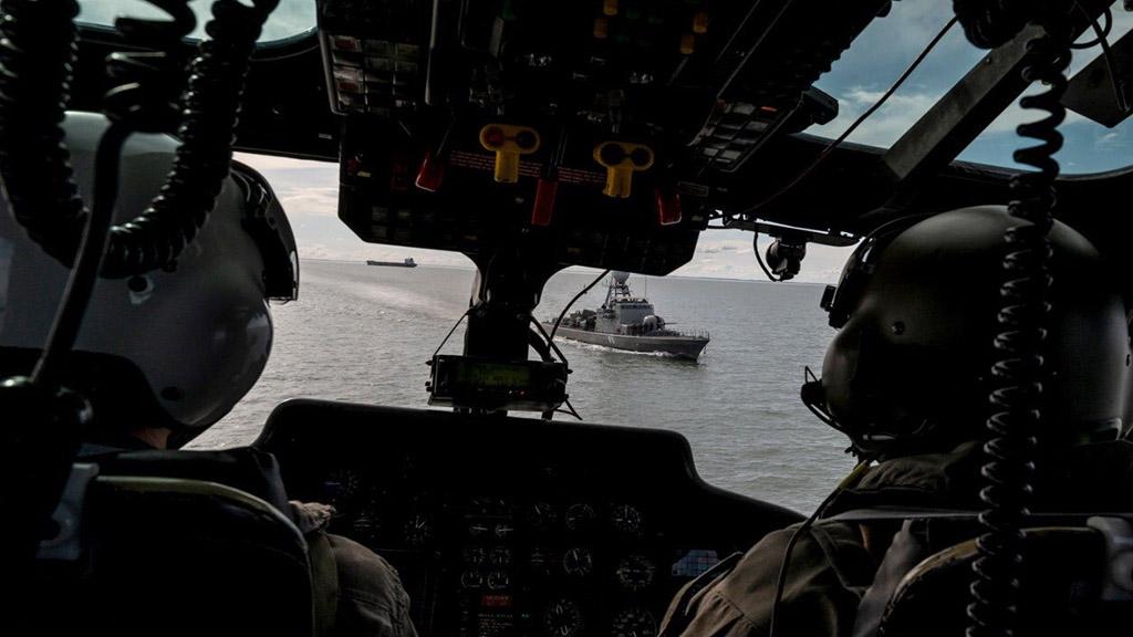 Bahía Blanca: búsqueda de la Armada y Prefectura de un presunto hombre al agua