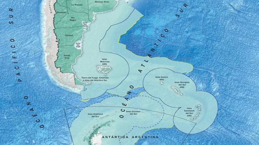 Conflicto diplomático con Chile por la plataforma continental argentina