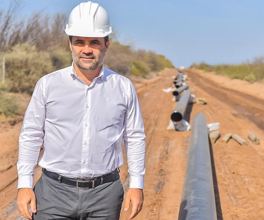 """Darío Martínez definió como """"prioritarios"""" dos nuevos gasoductos desde Vaca Muerta"""