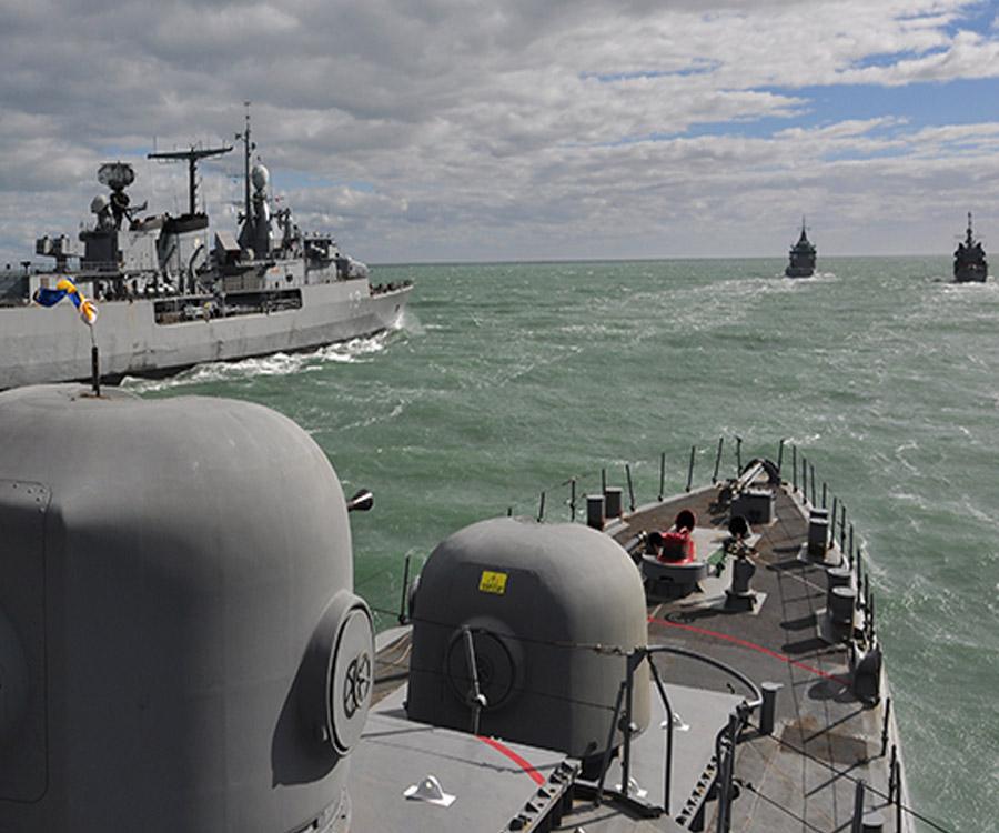 Unidades de la Flota de Mar finalizaron una intensa etapa de adiestramiento