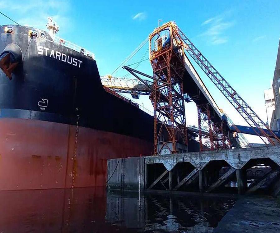 Puerto Quequén movilizó más de 6 millones de toneladas en lo que va del año