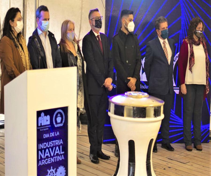 ABIN y FINA celebraron el Día de la Industria Naval Argentina