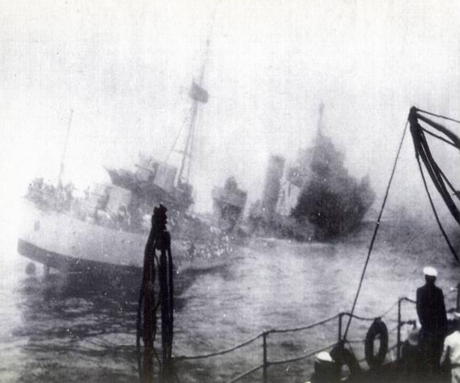 """Así fue, hace 80 años, el hundimiento del torpedero """"ARA Corrientes"""""""
