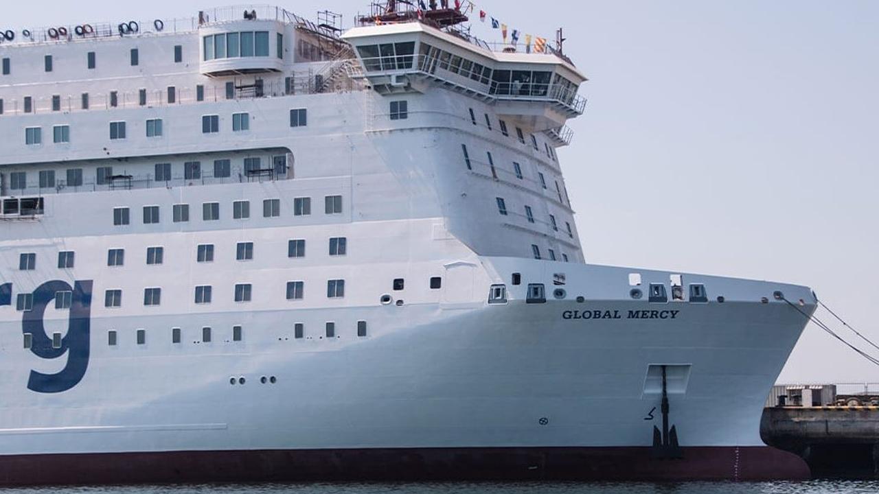 Así es el Global Mercy, el buque hospital civil más grande del mundo