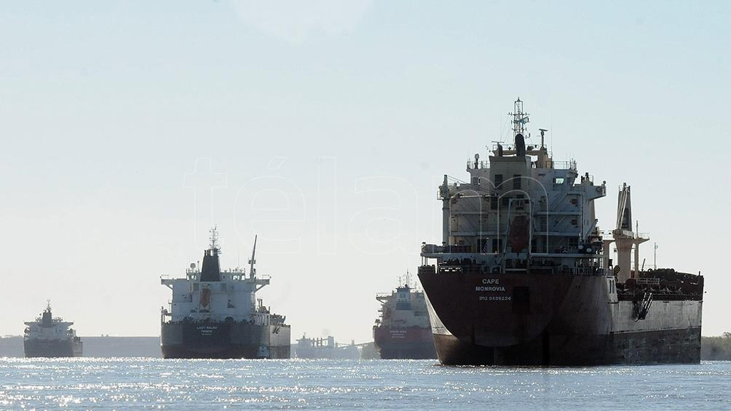 La actividad fluvial y marítima argentina cayó un 26,81% en octubre