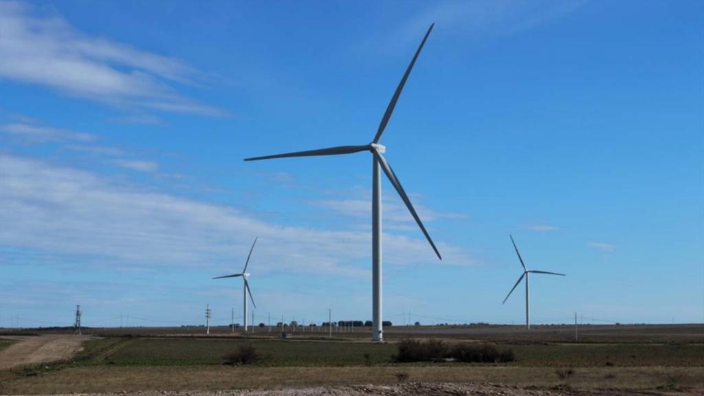 Nuevo parque de energía eólica en el sur de la Provincia de Buenos Aires