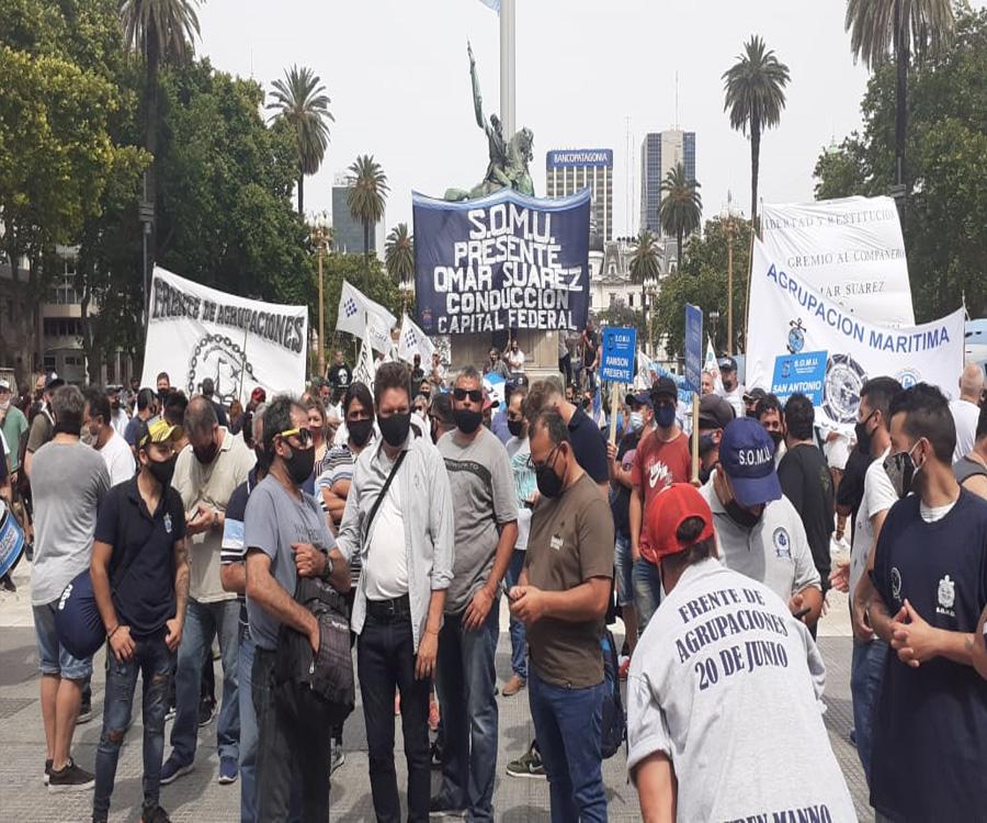 """El sector de Omar """"Caballo"""" Suárez pidió la urgente normalización y elecciones en el SOMU"""