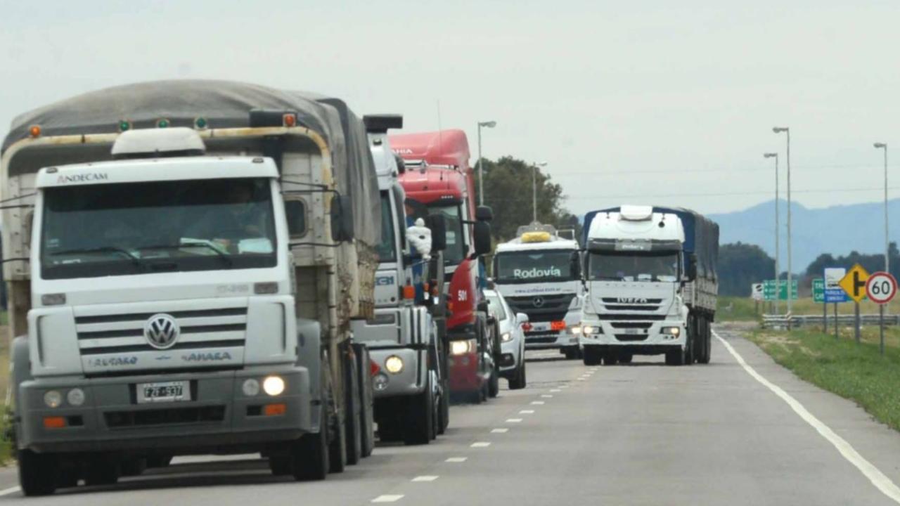 Los costos del transporte de cargas aumentaron casi un 5% en enero