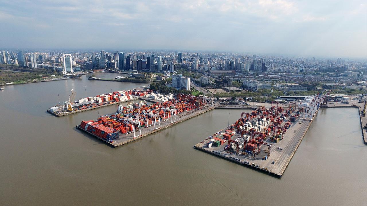 El puerto de Buenos Aires extiende las bonificaciones a sus concesionarios