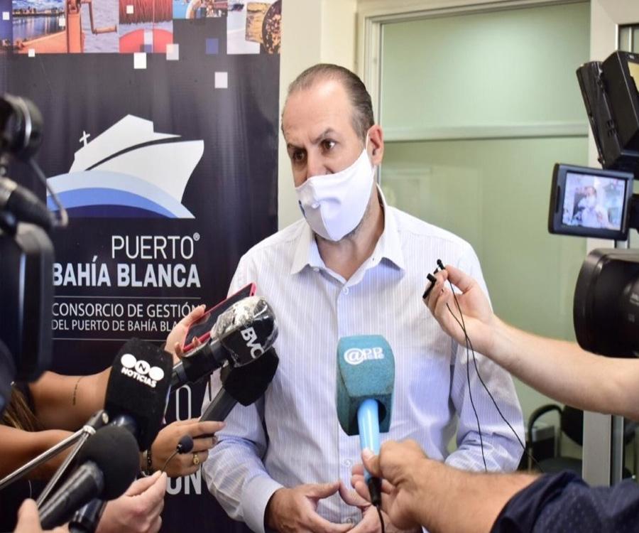 El Consorcio de Gestión de Bahía Blanca inauguró oficinas en puerto Galván