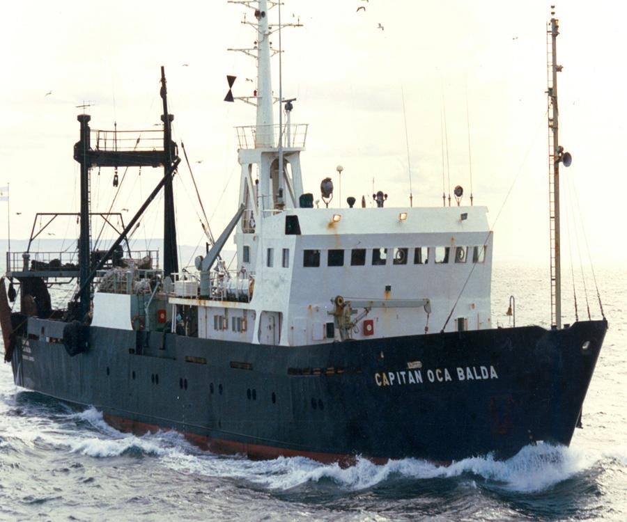 El histórico buque Capitán Oca Balda dejó el INIDEP para sumarse a Parques Nacionales