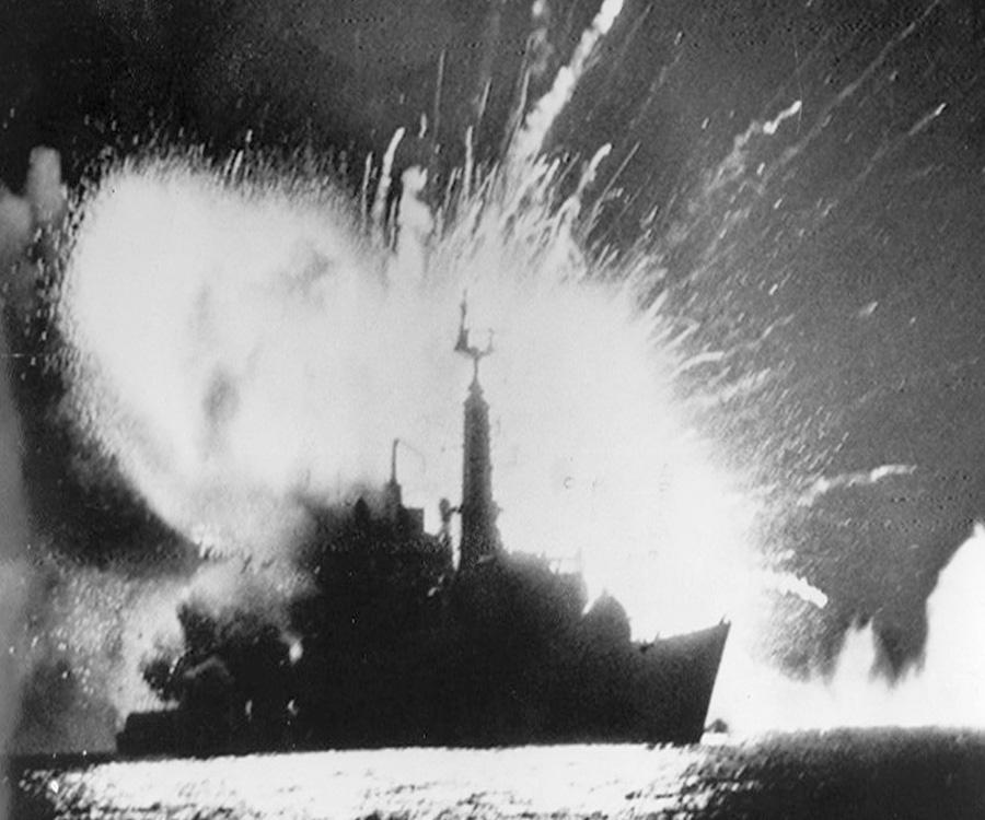 ¿Las minas navales soviéticas habrían ayudado a Argentina a ganar en 1982?