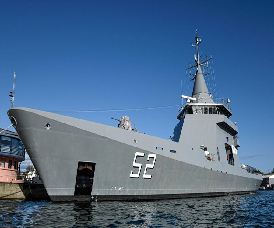 La Armada Argentina recibió en Francia el nuevo patrullero oceánico ARA Piedrabuena