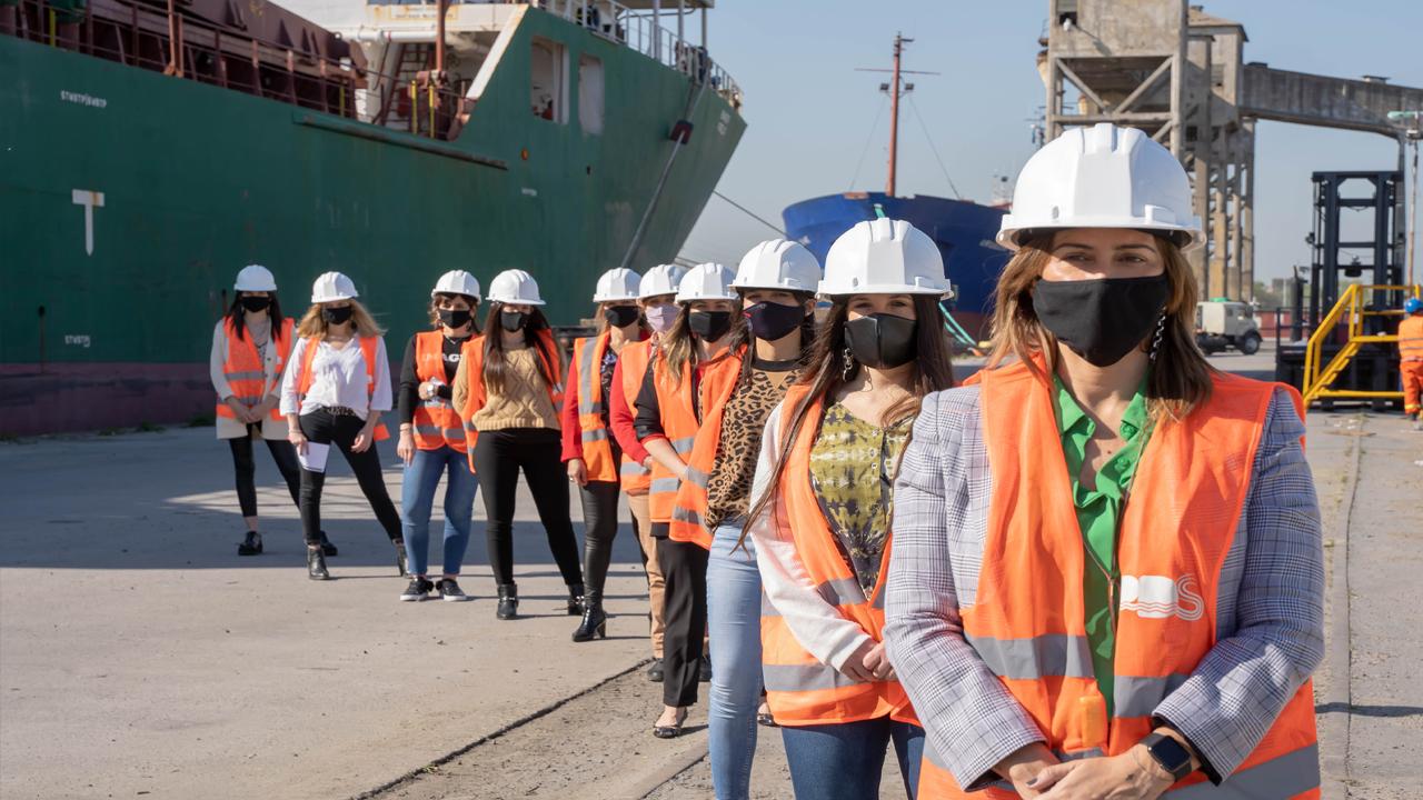 Primer año de gestión de Carla Monrabal al frente del Puerto Dock Sud