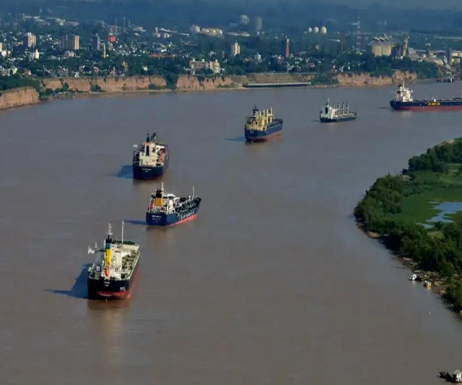 Un informe de Bloomberg advierte sobre la sequía en las rutas fluviales sudamericanas