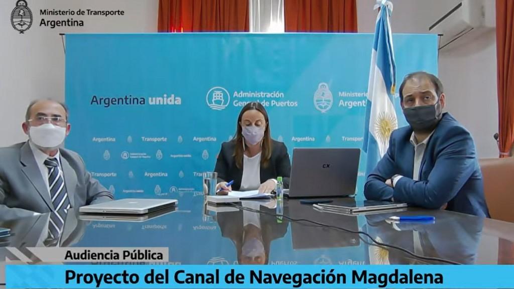Se realiza hoy la Audiencia Pública sobre el proyecto del Canal de Navegación Magdalena