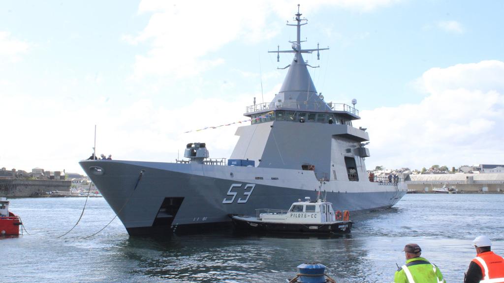 La Armada Argentina recibirá en octubre al ARA Storni, su tercer patrullero oceánico