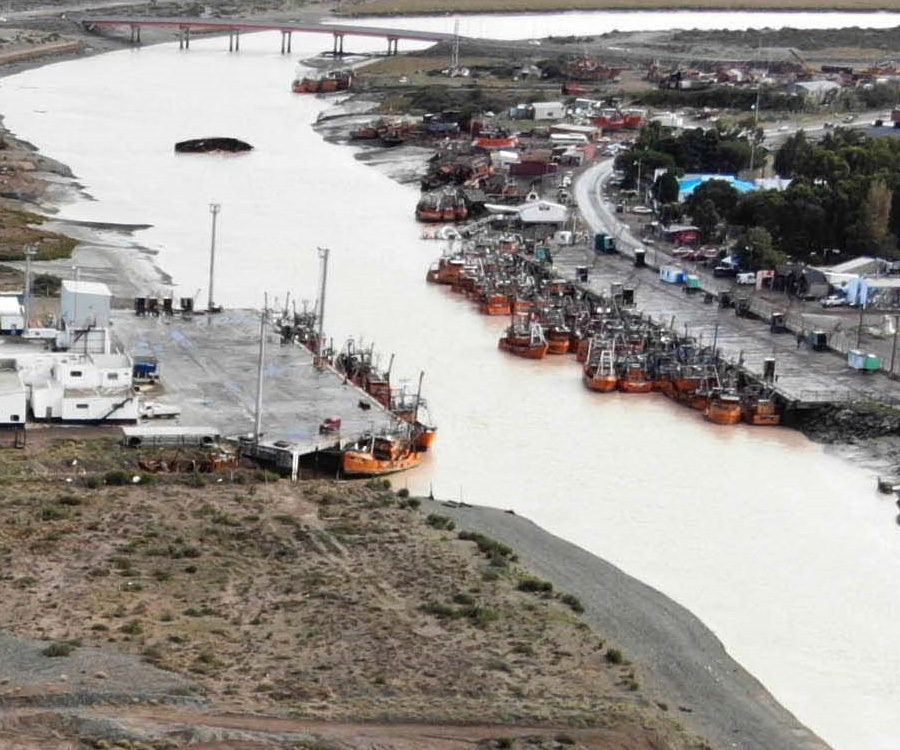 Video:  gran inversión privada para la construcción de muelles en el puerto de Rawson