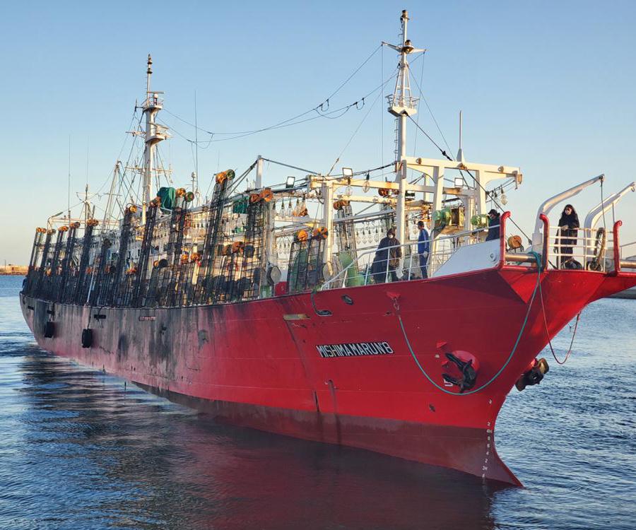 Convocan, para el lunes, a un paro total de actividades en la flota pesquera nacional