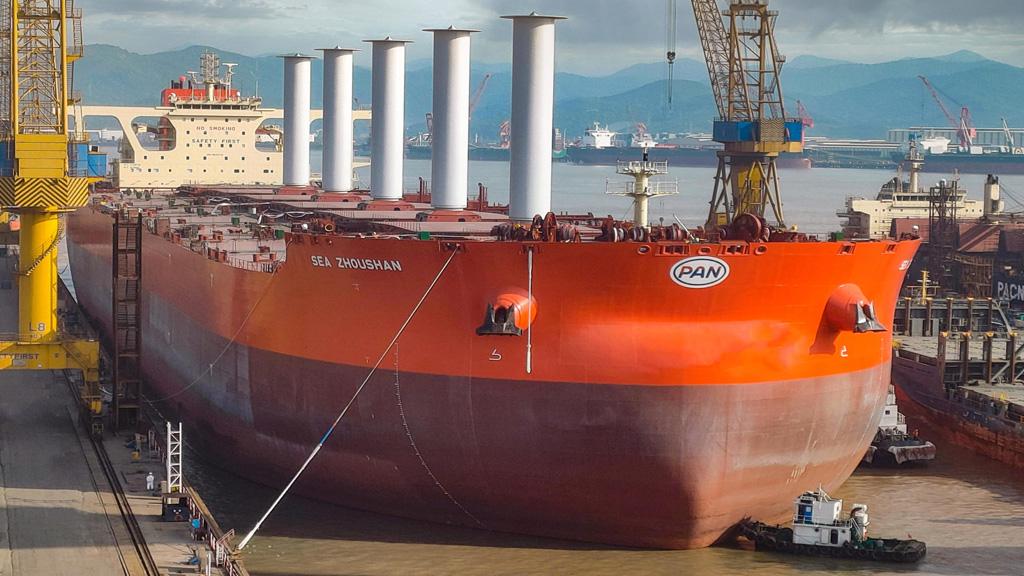 Video: así es el sistema que utilizará la minera Vale para que sus barcos contaminen menos