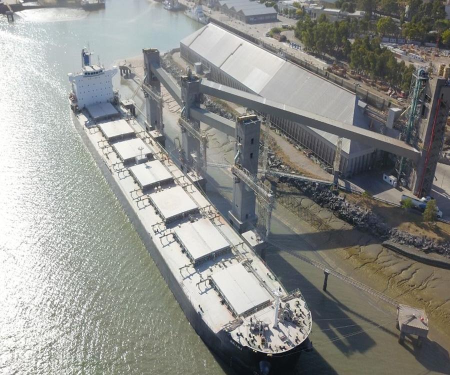 Muy buen primer cuatrimestre para el puerto de Bahía Blanca
