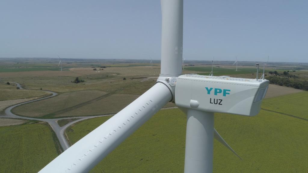 YPF Luz finalizó Los Teros, en Azul, uno de los parques eólicos más grandes del país