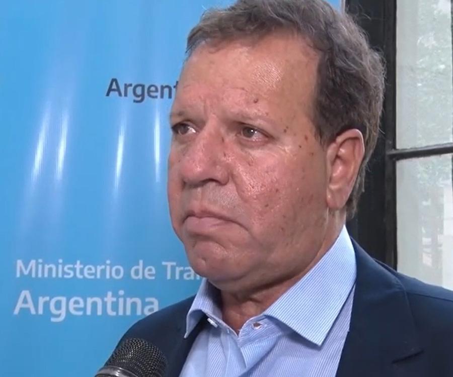 Cabrera: pensamos llevar la hidrovía a la máxima profundidad que los estudios aconsejen