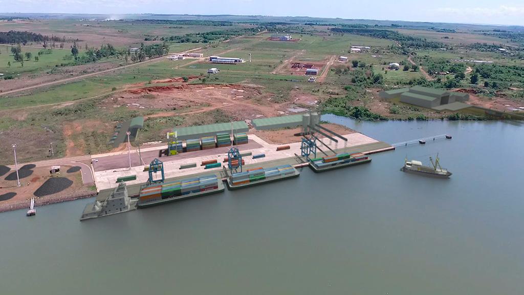 Estiman que el nuevo puerto de Posadas estará operativo a fin de año