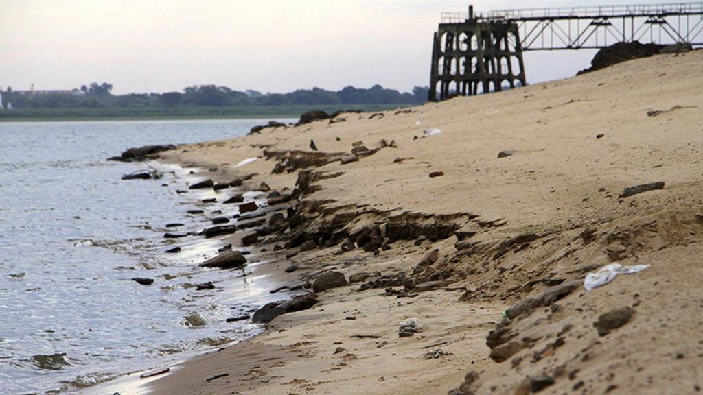 En fotos: el río Paraná volvió a batir su marca más baja en 50 años y julio será muy crítico