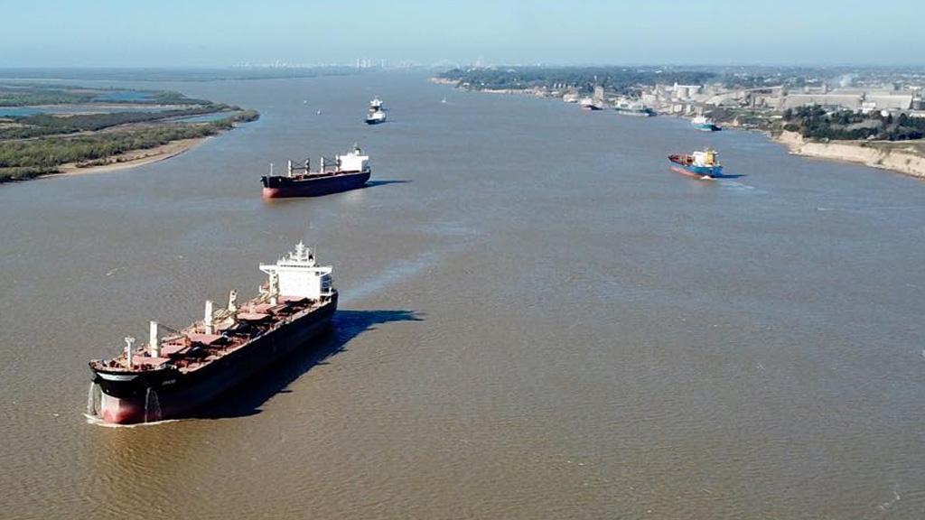 Por decreto, la AGP se hace cargo de la concesión de la hidrovía