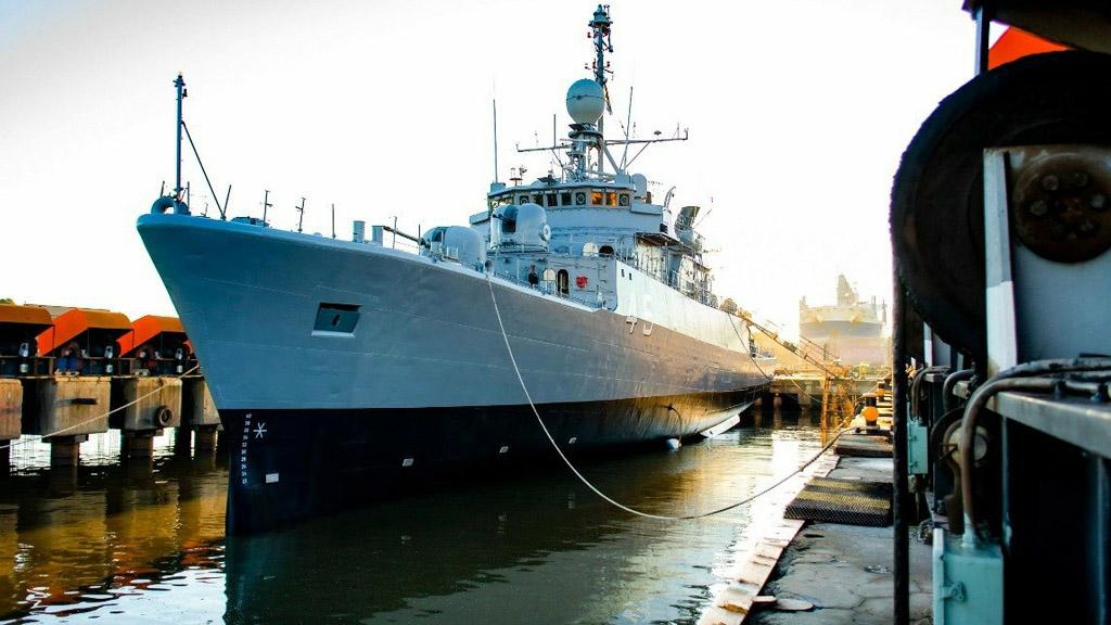 La Armada recibió el primer buque reparado en Tandanor con el recursos del FONDEF