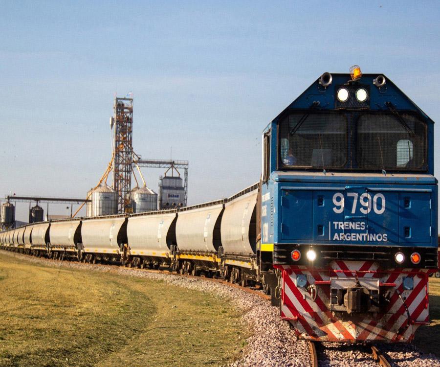 En fotos: nuevo desvío ferroviario de la línea Belgrano en Chaco